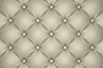 3D render of the beige quilted leather pattern