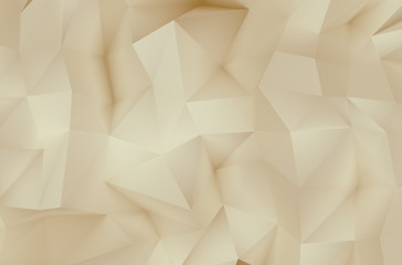 Abstract light cream triangle background