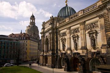 Fototapete - Dresdener Frauenkirche