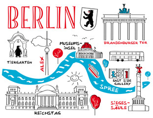 Berlin, Wahrzeichen und Sehenswürdigkeiten
