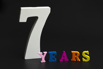 Seven years.