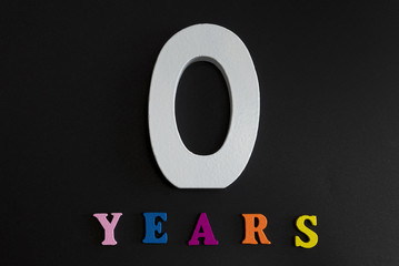 The zero years.