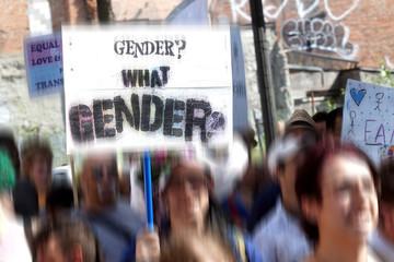 Trans-gender protest
