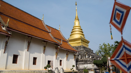The old temple in the North of Thailand