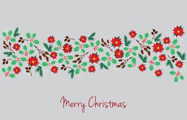 mistletoe garland for christmas