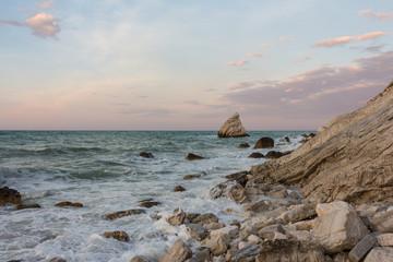 Portonovo beach, Ancona, Italy