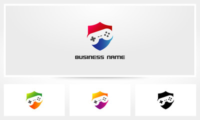 Game Joystick Shield Logo