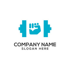 Fitness and Gym Logo Vector