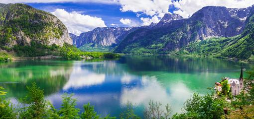 Breathtaking nature and lakes of Austria. Hallstatt