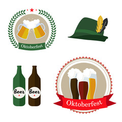 different vector images for Octoberfest
