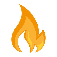 fire flame burn hot heat flaming nature  vector graphic isolated illustration