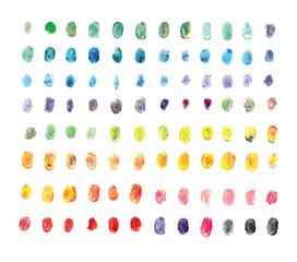 finger painting 1-4