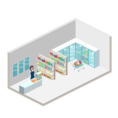 isometric shop