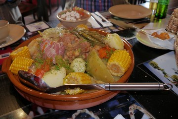 Traditionelles Gericht auf la Palma