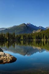 Longs Peak Reflection in Bear Lake