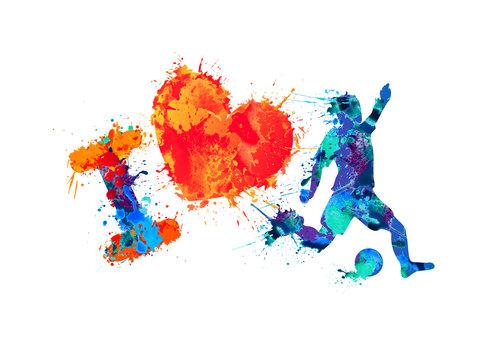 I love soccer (football)