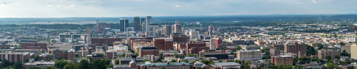 Panorama of Downtown Birmingham, Alabama