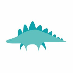 dinosaurs logo icon vector