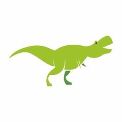 dinosaurs logo icon vector