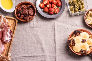 Delicious Spanish Tapas Food