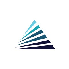 triangle technology vector logo
