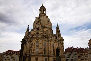 Fototapete - Frauenkirche, Dresden