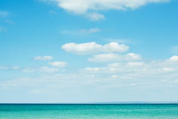 Summer sea and sky