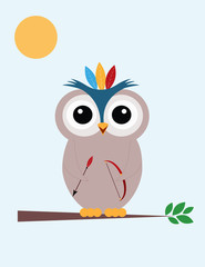 I am brave owl