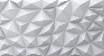 White abstract geometric background