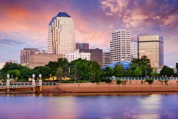 Shreveport, Louisiana Skyline Wall mural