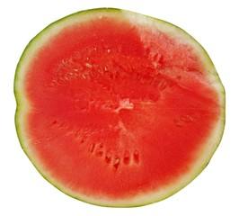 Wassermelone - geschnitten