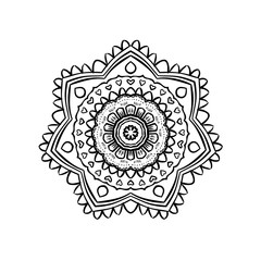 mandala Yoga pattern