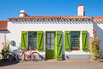 Les rues de Noirmoutier en Vendée