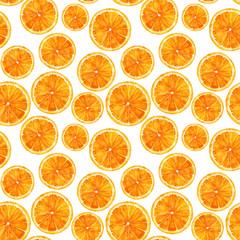 pattern with orange
