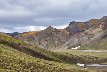 Landmannalaugar, Colorful Icelandic Mountains