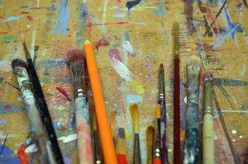 Künstlerpinsel