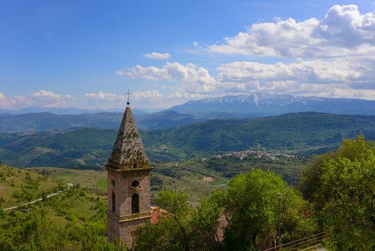 Rocca Calascio (Abruzzo, Italy) - Medieval castle in the National Park of Gran Sasso
