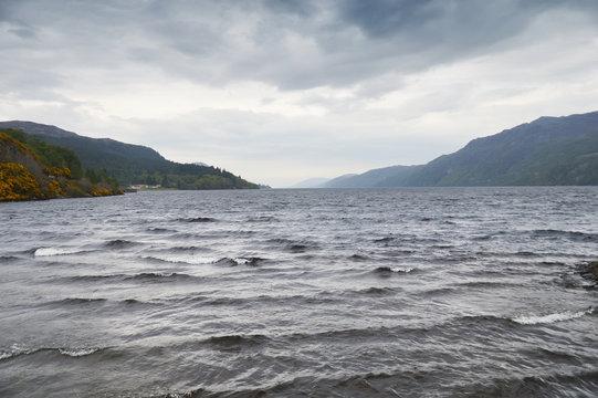 Lac du Loch ness en Ecosse