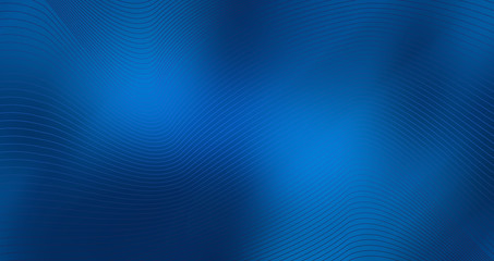 Blue background with abstract shape lines