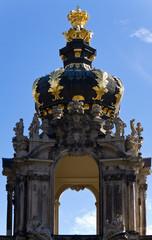 Fototapete - Kronentor am Dresdener Zwinger