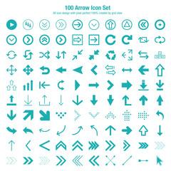 Arrow Icon Set Design