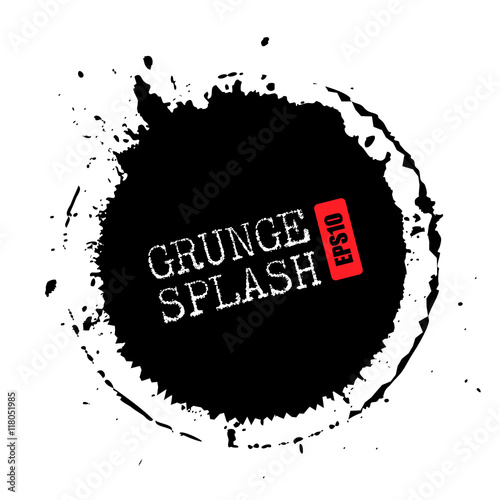 of vector grunge circle - photo #11