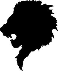 Fototapete - lion head tattoo-2
