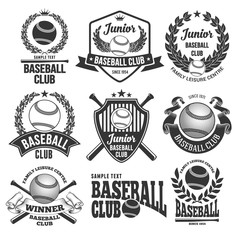 Baseball Club Emblems
