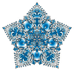 Mandala. Beautiful ornament. Vintage pattern. For your design.