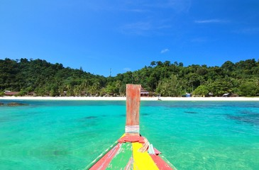 the paradise island in trang thailand