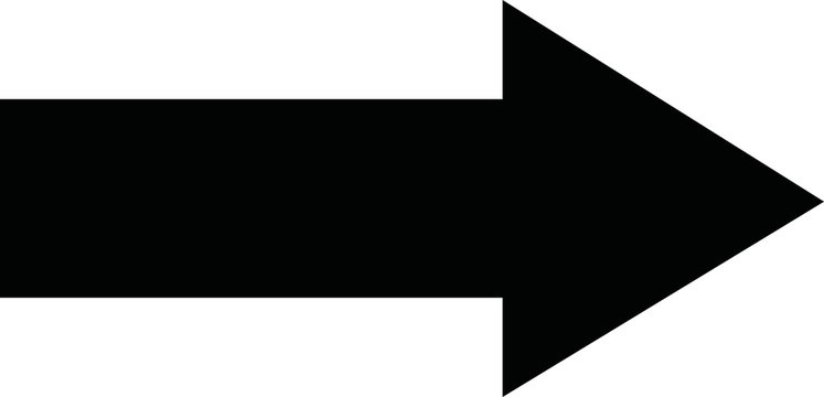 Black arrow forward