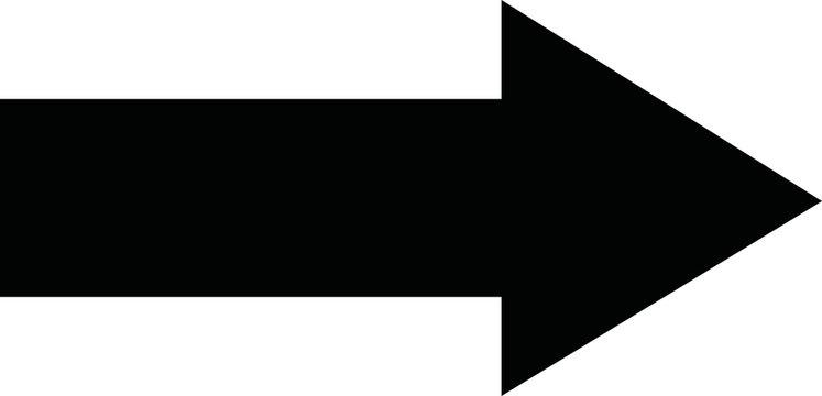 Black arrow forward