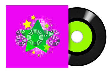 80's Records 45 RPM / 45 tours eighties