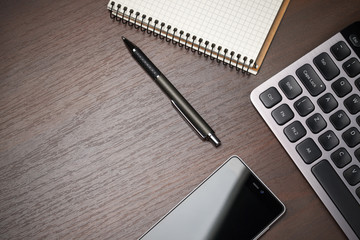 Business wokspace desktop background